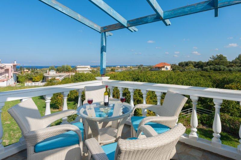 NEW FLEXIBLE TERMS FOR PEACE OF MIND |Family Villa | Rhodes | Greece, casa vacanza a Kamiros Scala