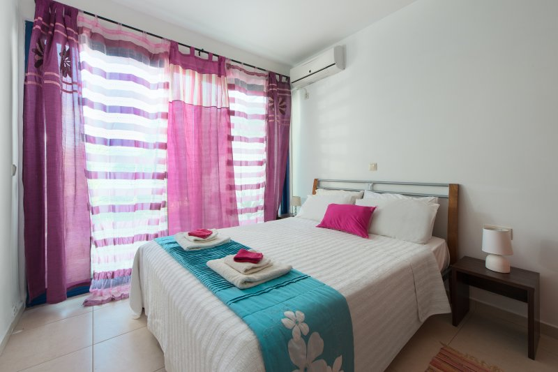 Double bedroom opening out into the private well maintained garden.