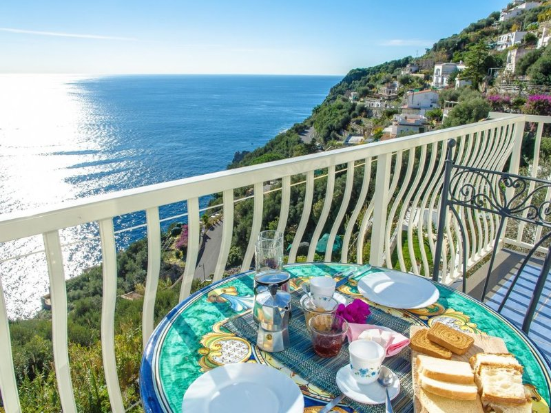 Zaffiro - 4 sleeps in Praiano - Sea View Terrace, vacation rental in Praiano