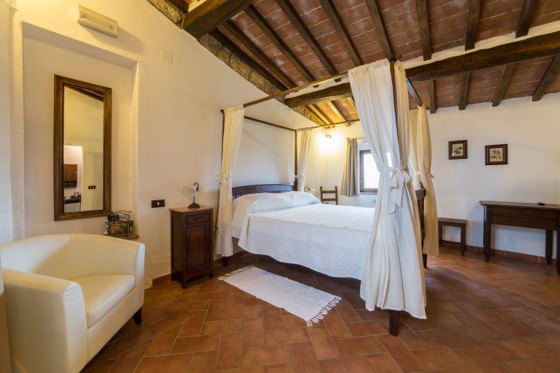 Granary master bedroom. The