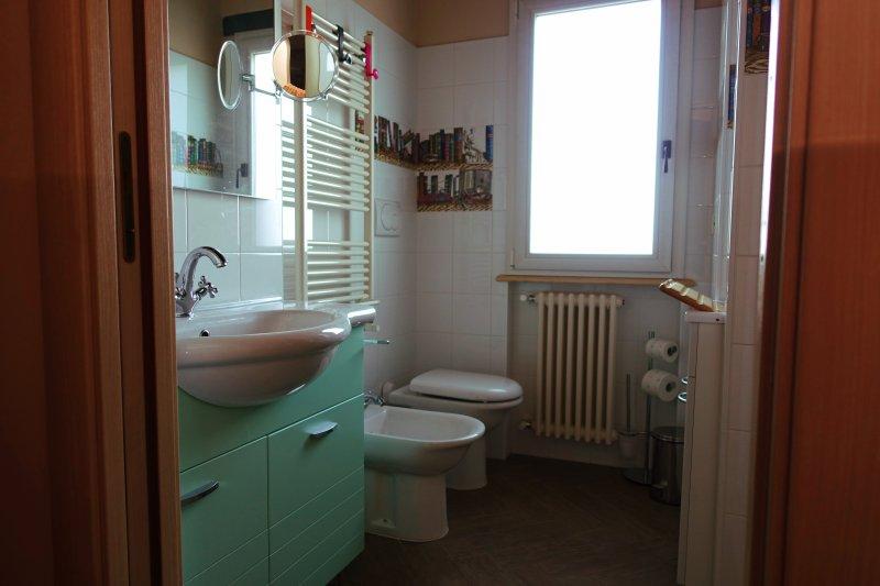 baño apartamento Rosa