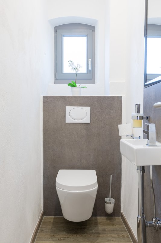WC com luz natural
