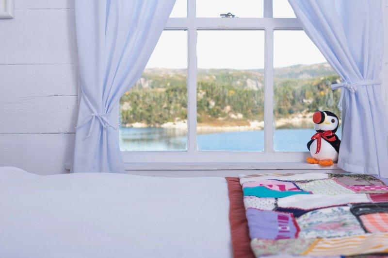 Réveillez-vous à la vue sur l'océan de notre chambre principale
