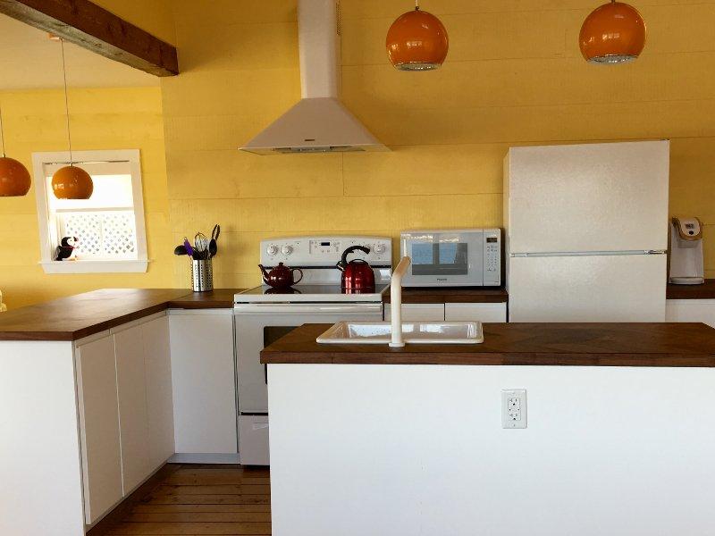 La cuisine est un rêve dans notre cuisine moderne