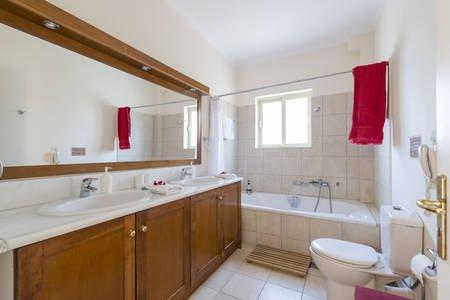 El baño principal