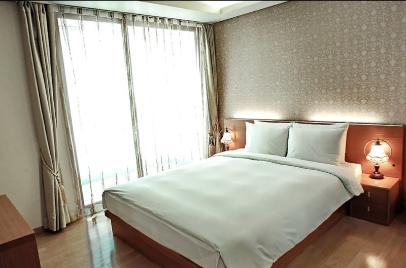 DMC Ville, Serviced apartment for foreigners., holiday rental in South Korea