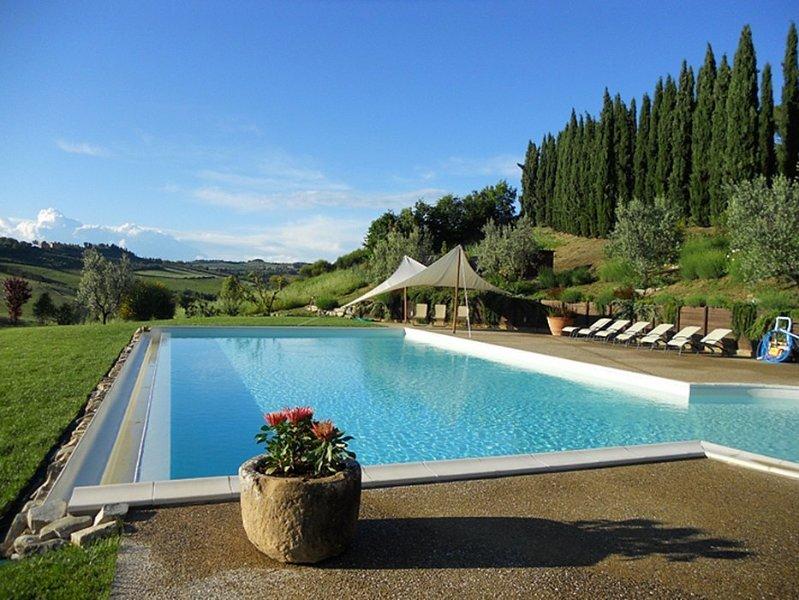 Villa Lionella Grande, vacation rental in Poggibonsi