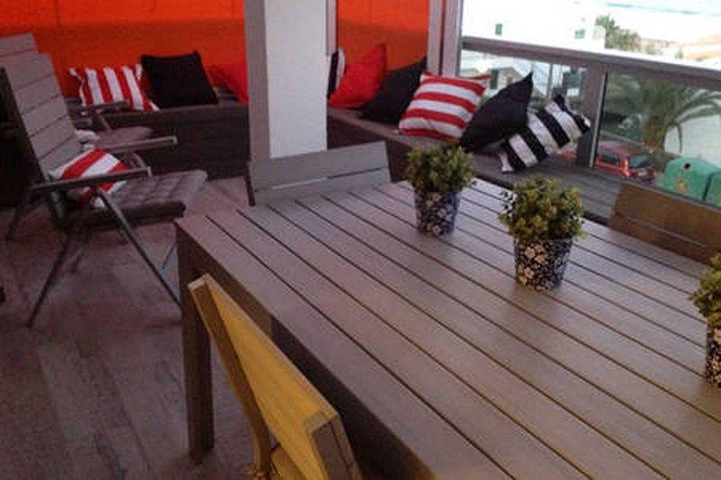 Apartamento en Playa de las Burras, Ferienwohnung in San Agustin