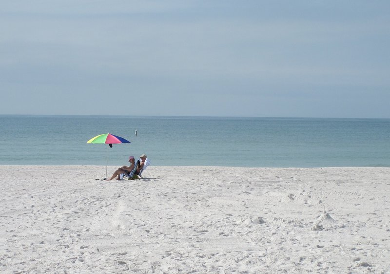 Image yourself relaxing on the beach every day of your stay.