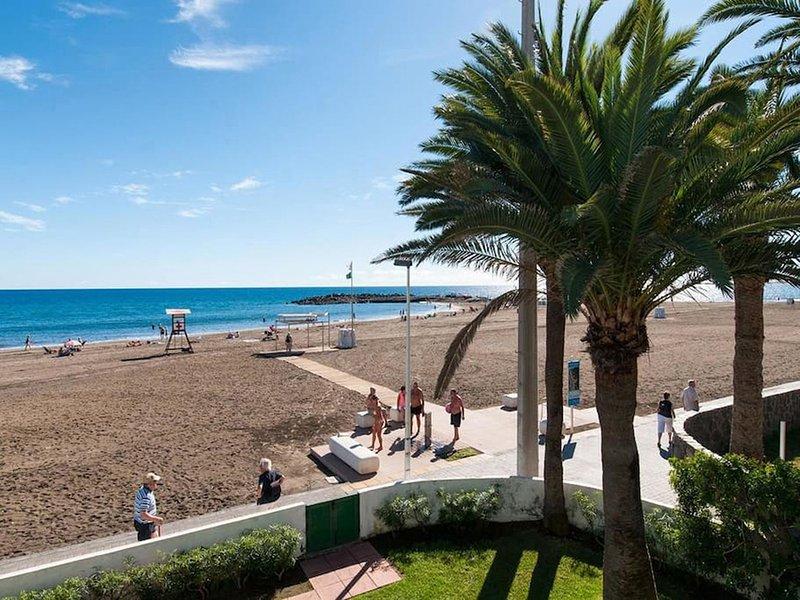 Primera Linea de Playa las Burras, Ferienwohnung in San Agustin