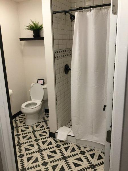 1st Bathroom - Full shower