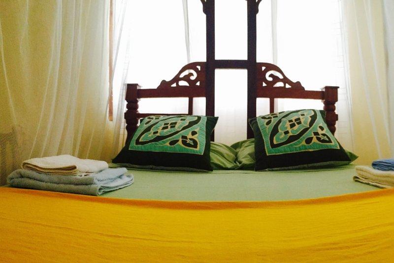 Tous les lits sont fournis avec moustiquaire