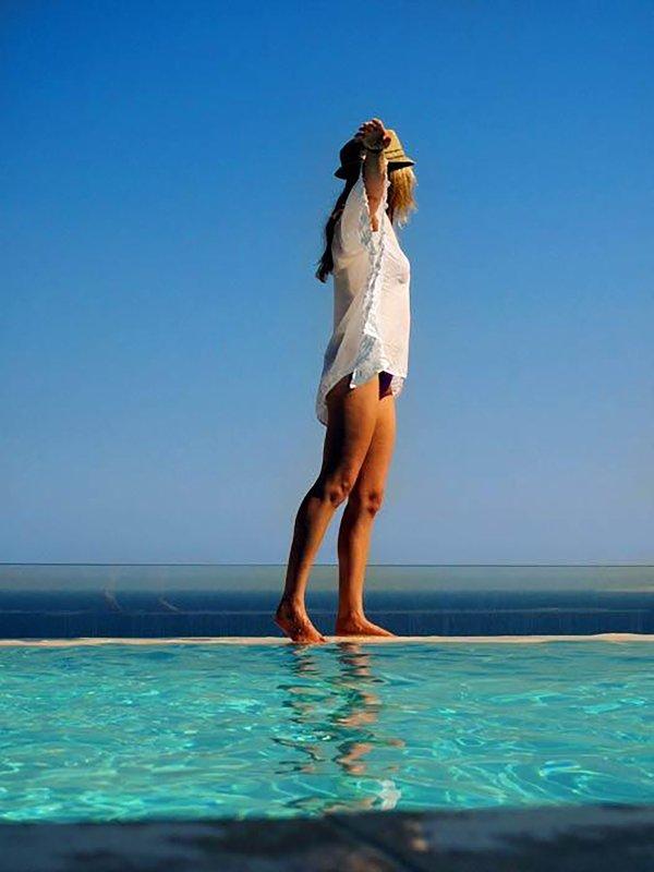 piscina infinita, alcançável em 10 minutos a pé ou 2 minutos de ônibus / táxi da Vicaria