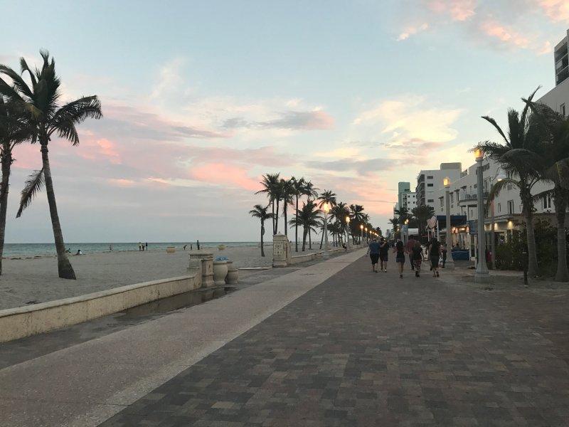 Hollywood Beach Broadwalk &