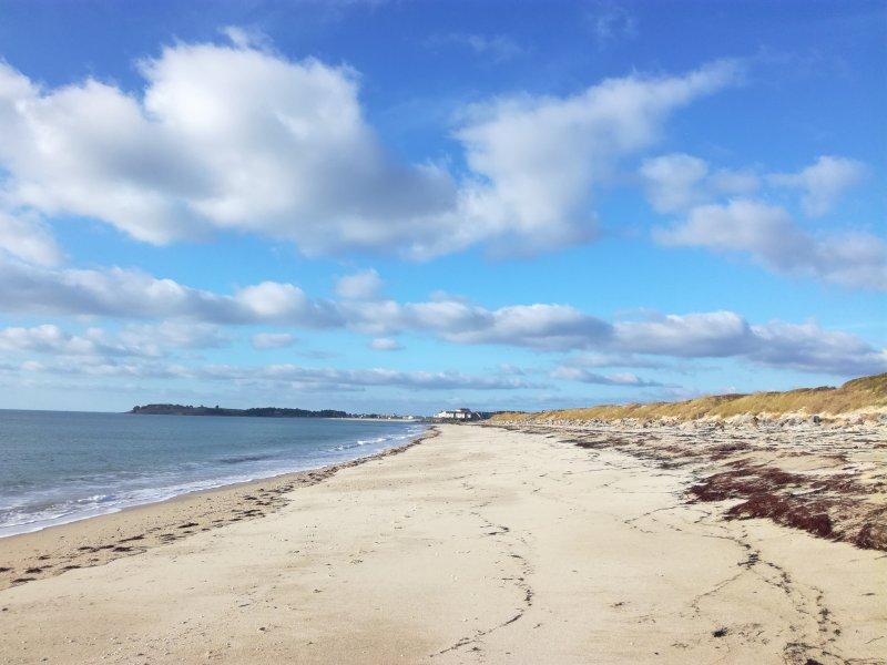 La plage de KERJOUANO
