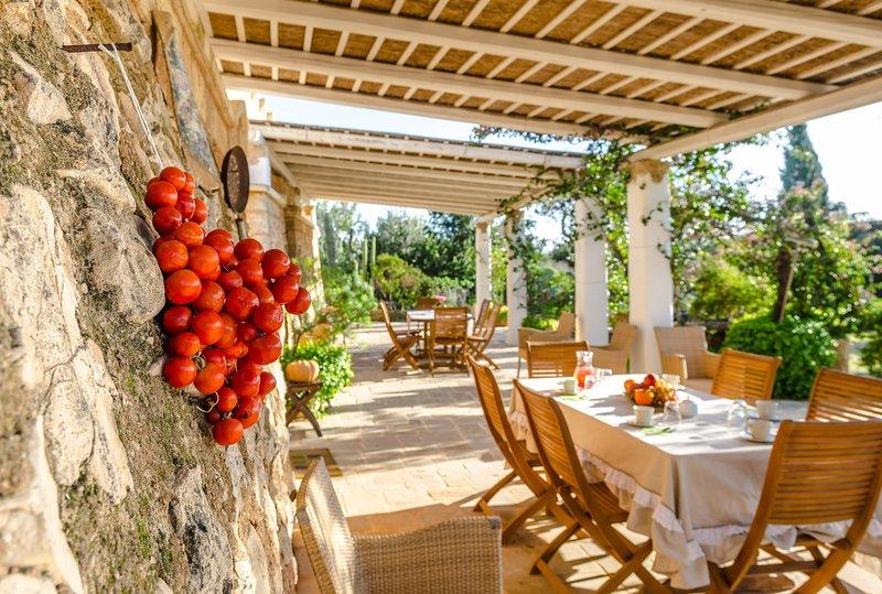 Dimora con piscina in Villa Panoramica, holiday rental in Torre Suda