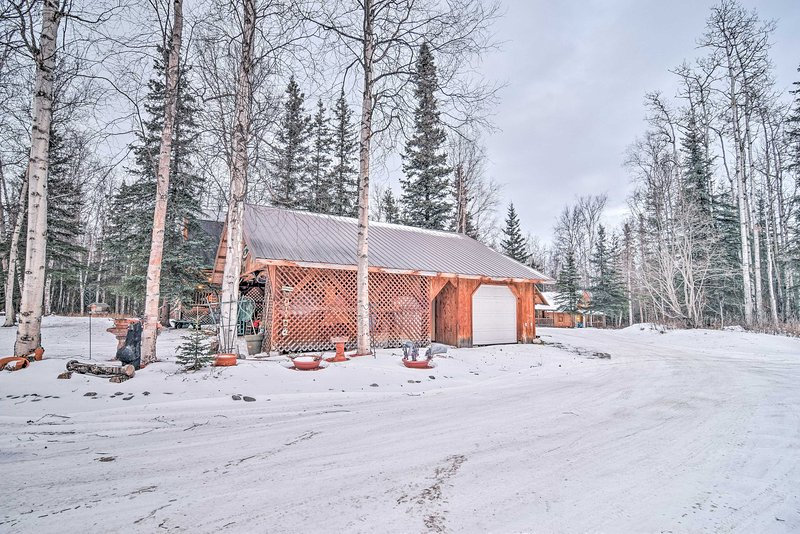'Alaska Kozey Cabins' est l'endroit idéal pour une retraite unique en Alaska.