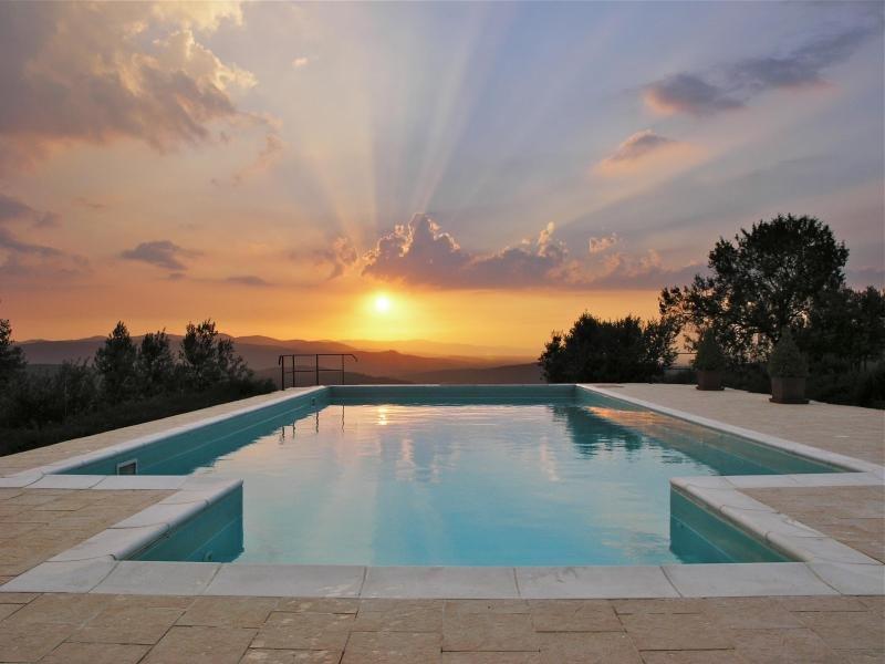 Pool with stunning views