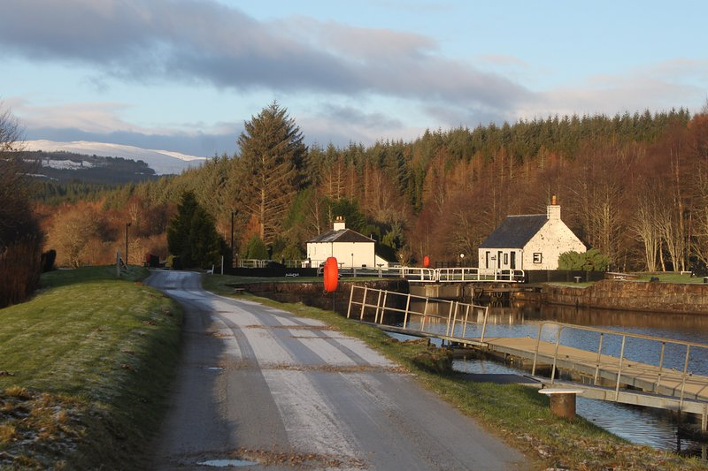 Caledonian Canal is just down the road.  Great for cycling or walking (Fort William to Inverness).