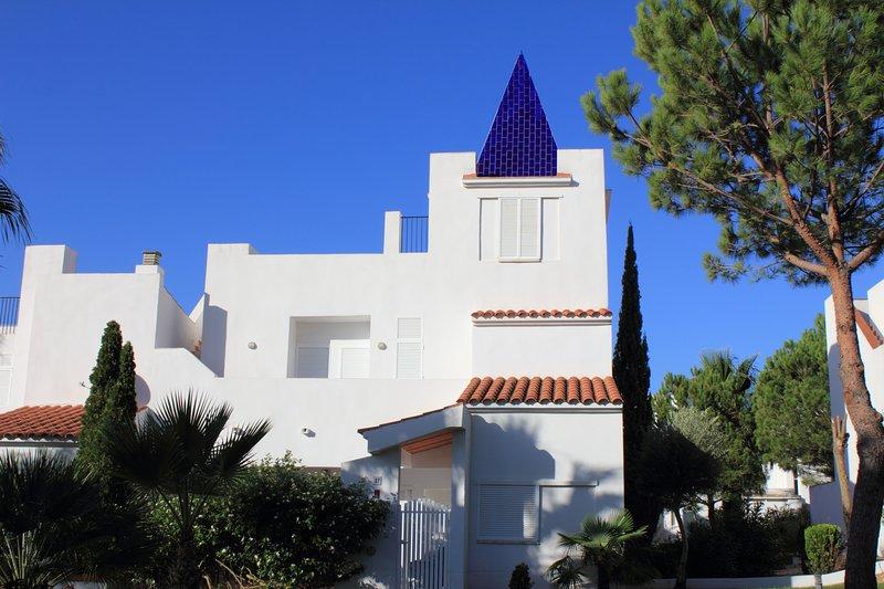Casa en La Loma de Sancti Petri junto a la Playa de La Barrosa, alquiler de vacaciones en Novo Sancti Petri