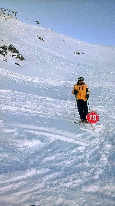 Lots of snow on Mt Vallon
