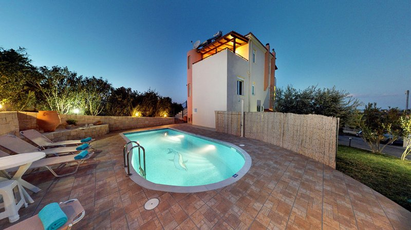 Margaret Villa, Gouves Heraklion Crete, holiday rental in Analipsi