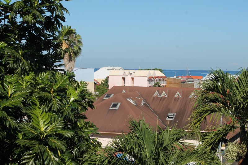 View of the Sea from the balcony of one of the 2 bedrooms