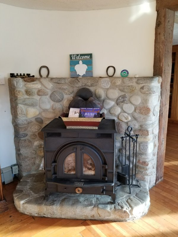 Wood stove to make your evenings cozy