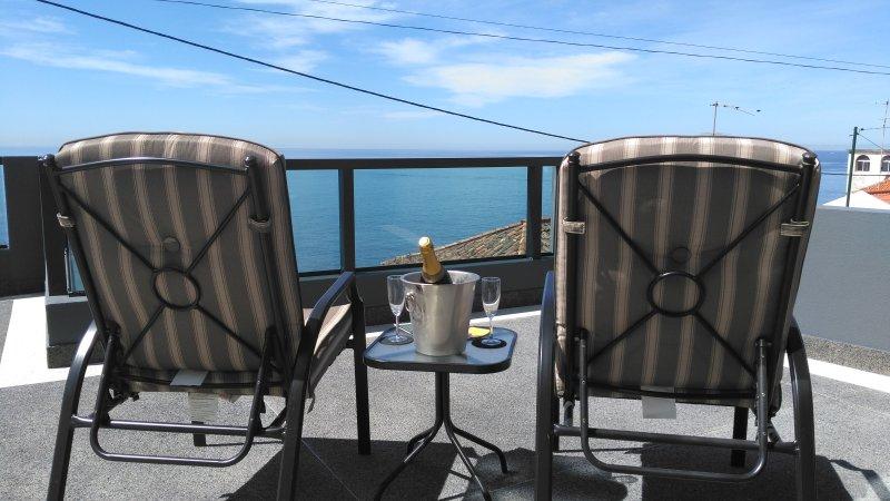 Terrasse avant Vue sur la Mer