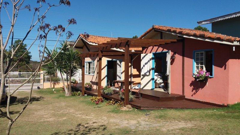 Visualizza l'insieme di bungalow;