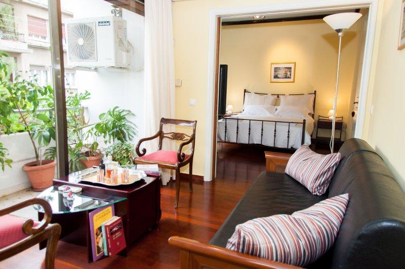 Nuestro apartamento espacioso y brillante