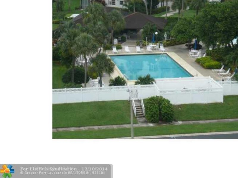 Accross the street recreation area with 2 pools (1 heated) , sauna, BBQ