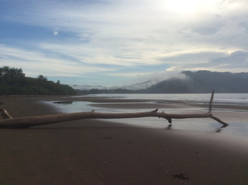 Playa Pochote in early morning
