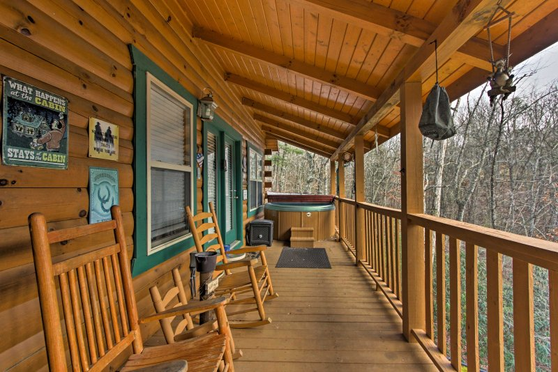 Look forward to sipping your morning coffee on the porch.