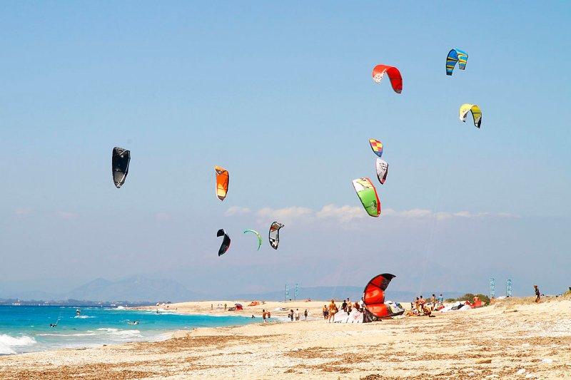Amazing kite surfing spot just  600 meters from the villa
