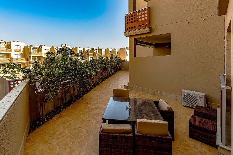 Apartment Vista Roja 2 bedroom, holiday rental in La Tejita