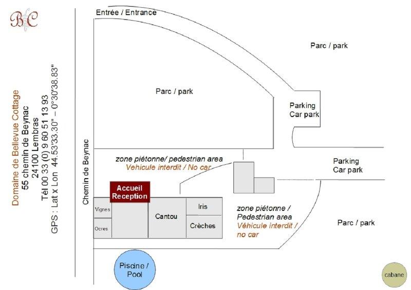 map property / ownership plan