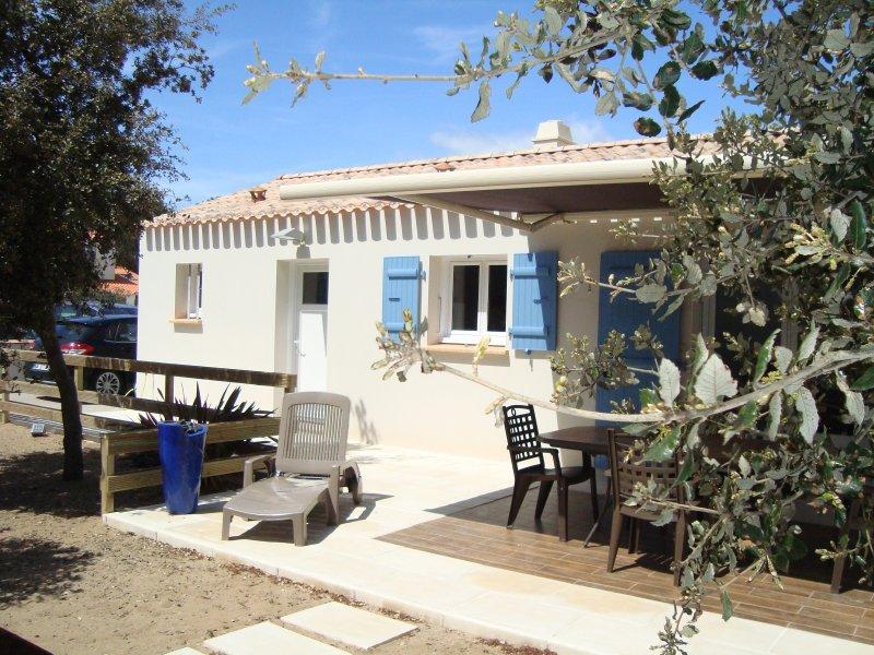Maison neuve a 400m plage de sable a pied, holiday rental in La Tranche sur Mer
