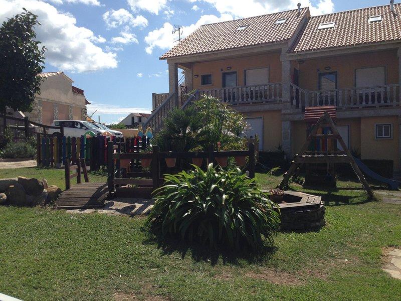 Aqualecer. 1 dormitorio con terraza, vacation rental in Sanxenxo