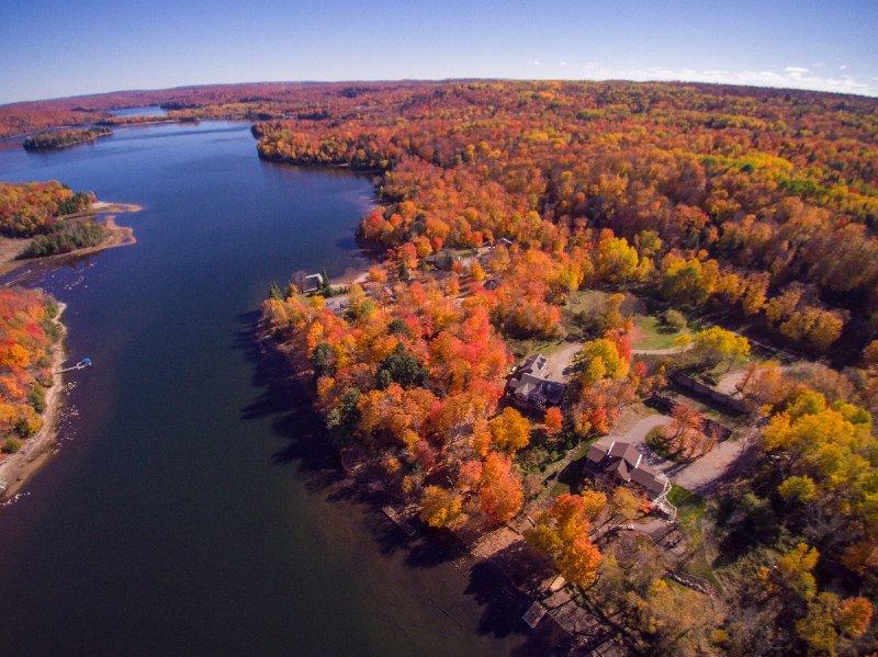 Drone Vista da propriedade