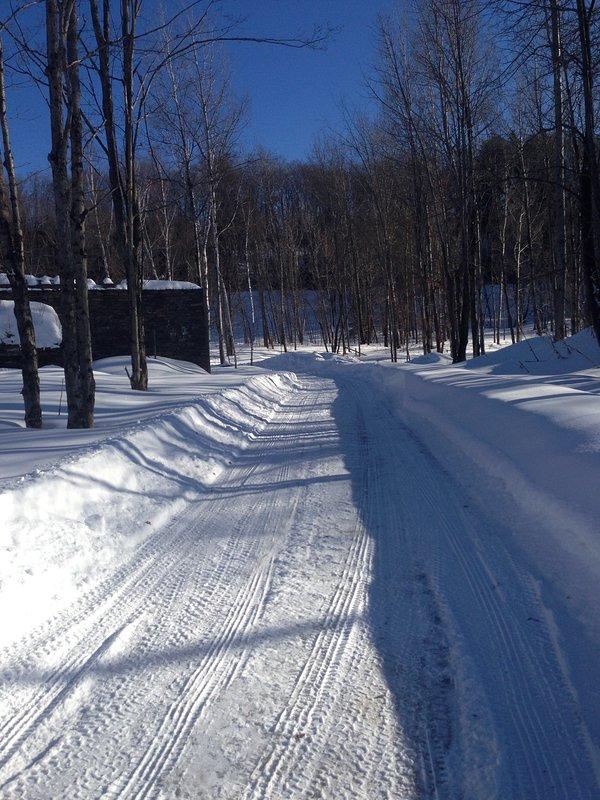 Driveway No Inverno