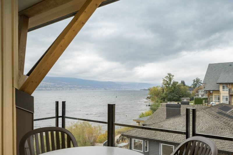 Enjoy the beautiful lake view from your private balcony