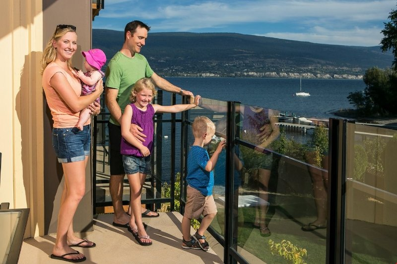 Enjoy the partial lake view from your balcony