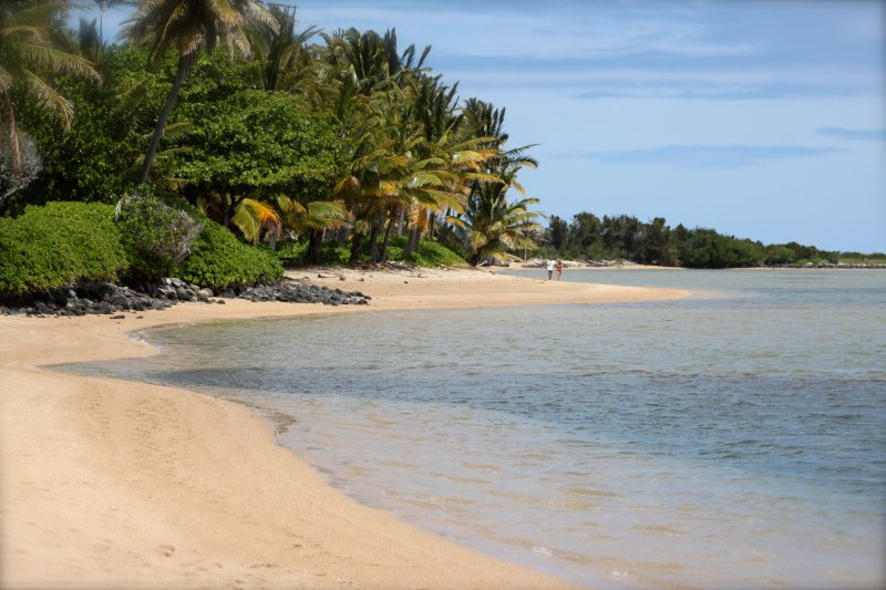 Start out your day here with a nice walk on the beach and then perhaps a swim right out front.