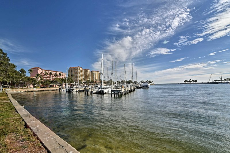 'Captain's Quarter's' is sure to treat you to the very best of Tampa Bay!