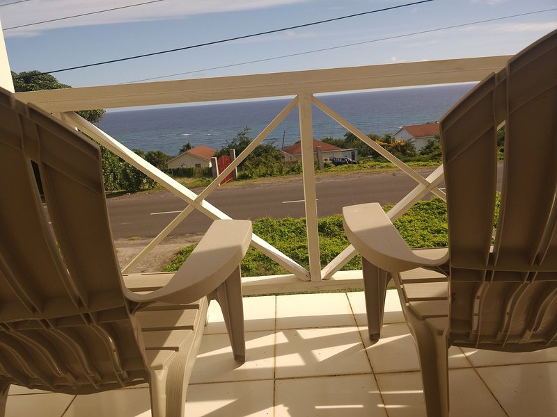 Your front balcony five minutes walk from your nearest beach.