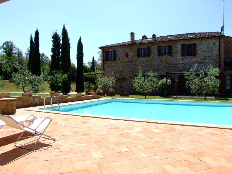 Apartment one bedroom Podere Fiorello, vacation rental in Santarello