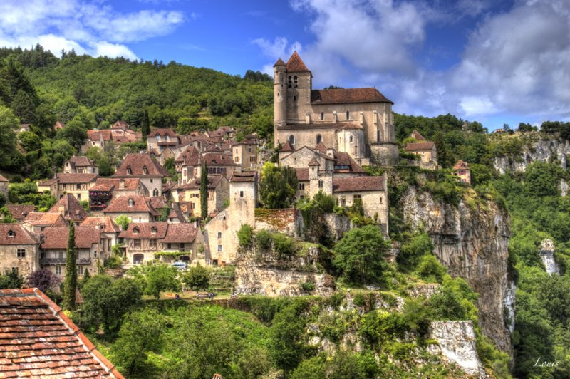 the village of Saint Cirq 40 minutes
