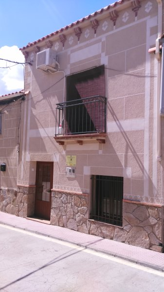 Facade of the house