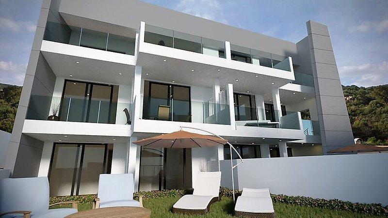 Particular residential block